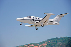eclipse 500 jet of Cannes Aviation