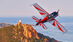 Extra 200 aerobatic aircraft of Cannes Aviation